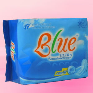 Ultra Thin Sanitary Towel With Wings (JHS007) pictures & photos