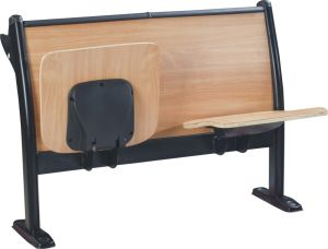 School Classroom Desk Chair Lecture Hall Seat University Auditorium Chair (S03) pictures & photos
