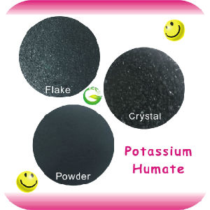 Agriculture Soluble Organic Humic Acid Potassium Humate pictures & photos