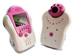 2.4G Wireless Baby Monitor With 2.5 Inch Display