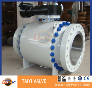 API6d Forged Steel Trunnion Mounted Ball Valve