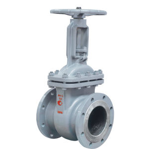 GOST Cast Steel Rising Stem Gate Valve with ISO9001