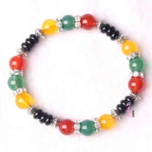 Fashion Crystal Beaded Jewelry Bracelet Bangles (ESB01290) pictures & photos
