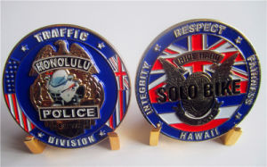 Wholesale Brass Traffic Police Coin