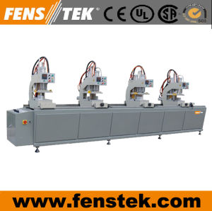 Four Head Window Welding Machine/ Vinyl Welding Machine/ PVC Window Making Machine (NTW4-120)