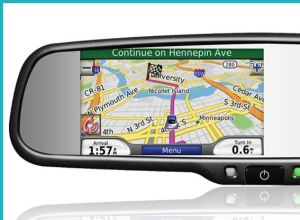 China 43 Inch Car Gps Navigation Rearview Mirror With Wifi And