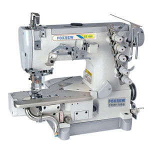Cylinder Bed Interlock Sewing Machine for Hemming Sewing with Trimmer pictures & photos