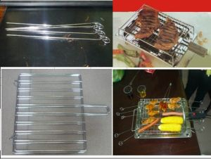 Middle Electric BBQ Grill