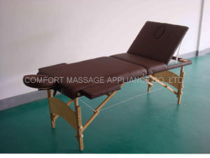 Portable Massage Table with Adjustable Backrest (MT-009A) pictures & photos