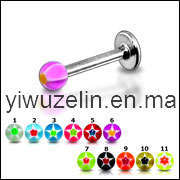 Arylic Lip Ring Body Piercing Jewelry (LCL-052905)