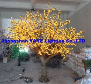 Yaye 2018 Best Sell 2 Years Warranty Waterproof IP65 LED Tree Light/LED Simulation Cherry Tree with Ce & RoHS pictures & photos