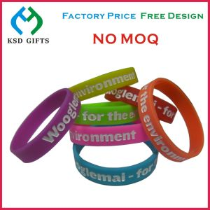 RFID Football Design Ink Printed Promotion Bracelet (KSD-869) pictures & photos