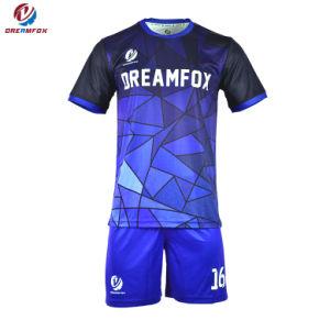 Wholesale Cheap Custom Soccer Uniform Sublimation 100% Polyester Soccer  Jersey Football Shirt Set 0f8e2e321