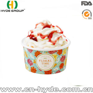 Flexo Ink Disposable Printed Ice Cream Cold Paper Cup pictures & photos