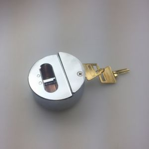 73mm High Security Hasp Shackle Round Hockey Puck Padlock pictures & photos