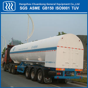 Cryogenic Oxygen Nitrogen Argon Road Tanker Transportation Tank pictures & photos