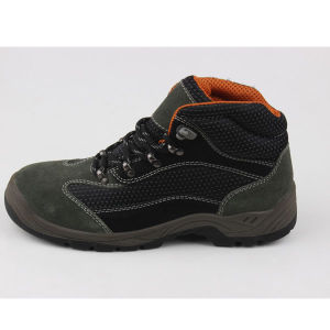 Hiking Sport Style Industrial Leather Safety Boots (SN1507) pictures & photos