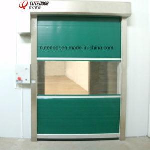 PVC Folding High Speed Roller Fast Rolling Shutter Door