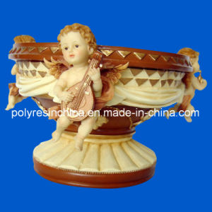 Resin Cherub, Polystone Cherub Figure Statue pictures & photos