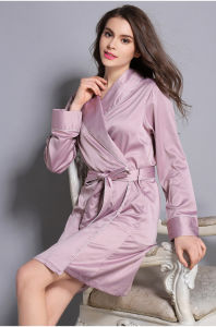 Wholesale Sleepwear Nightwear Women′s Sexy Silk Bathrobes Sy10303009 1c58c034c