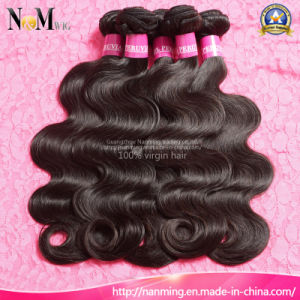 6A Grade Unprocessed Raw Virgin Peruvian Hair Bundles pictures & photos