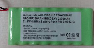 Ni-MH Alarm Panel Battery for NiMH-AA 2200 9.6V