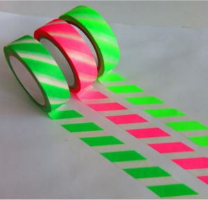 Fluorescent Washi Tape for Light Package
