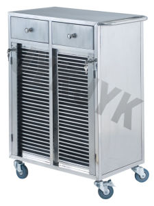 Stainless Steel Cart for Medical Record Holders pictures & photos