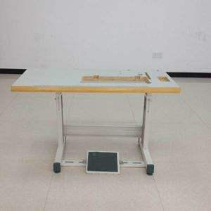 Industrial Sewing Wooden Top and Stand
