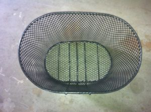 Factory Supply Steel Make Bike Basket