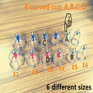 Good Quality Cupping Hijama/Cupping/Cupping Set Hkg-12 with Competitive Price