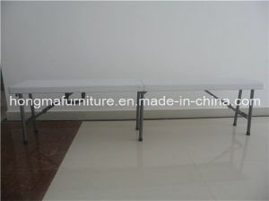 6FT Folding Bench Match with 6FT Folding Table