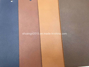 High Quality Embossed PU Leather for Shoes, Bags, Belt, Furniture pictures & photos