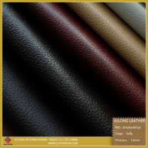 Air-Permeation PU Sofa Leather (SF024) pictures & photos