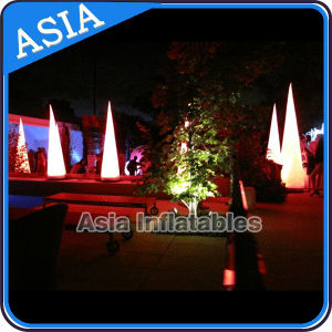 Garden Lighting Decoration Inflatable Tube, Inflatable Cone Lighting pictures & photos