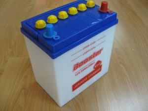 Dry Charged Battery, Car Battery, Lead-Acid Battery (NS40) pictures & photos