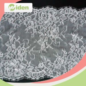 Factory Direct Sale Eyelash French Cord Lace Fabric Chantilly Lace pictures & photos