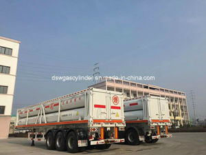 CNG Tube Trailer 6, 500 Cubicmeters pictures & photos