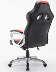 Racing Office Chair Sliver Arm Gaming Car Chair Bucket Seat pictures & photos