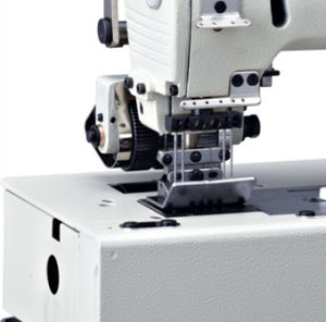 WD-1508P Flat Bed Double Chain Stitch Machine With Horizontal Looper Movement Mechanism pictures & photos