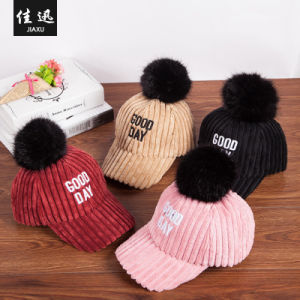 8d94995f8 Baby Girl Hat Winter Newborn Baby Girl Knitted Hats Girls Beanie Fur POM  POM Hat Children Cap Girls Hats Caps