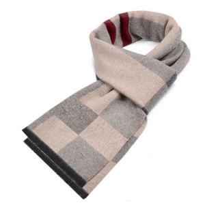 31f105f90 Winter Designer Scarf Men Striped Cotton Scarf Shawl Wrap Knit Cashmere  Scarf