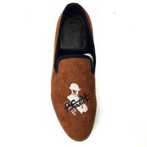 75855741c68 China Masonic Shoes Men Velvet Loafers Navy Prince Albert Slippers ...