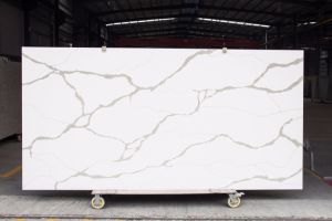 Building Material Quartz Ariitificial Stone with Solid Surface Wall Cladding