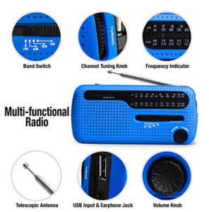 Hot Selling Solar Crank Radio pictures & photos