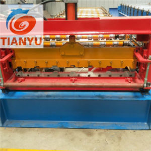 Metal Sheet Iron Roof Panel Color Steel Tile Roll Forming Machine