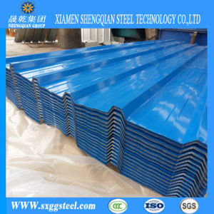 China Cheap Price Corrugated Blue Color Steel Roofing Steel Sheet Building Material China Roof Sheet Steel Roofing Sheets