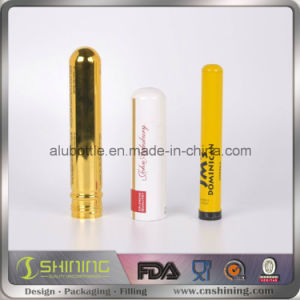 Custom New Metal Cigar Tube with Customized Logo Food Coating Inside