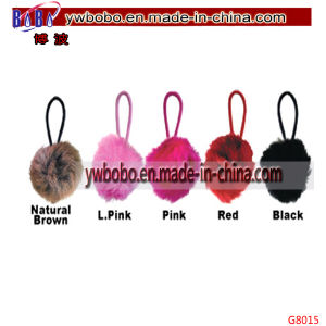 Business Gift Key Holder Christmas Gifts Pink Rabbit′s Puff Keychain (G8015) pictures & photos