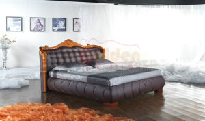 High Quality Wooden Sofa Cum Bed Designs 2817 pictures & photos